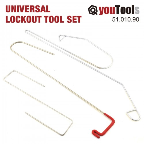 9 Pcs Set Universal Lockout Tool Lock Out Remover Kit Auto